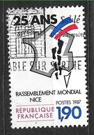 """FRANCE 2481 : Rassemblement Mondial Des """"Pieds-Noirs""""  Nice 25 Ans Après . - France"""