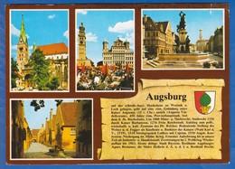 Deutschland; Augsburg; Multibildkarte - Augsburg