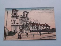 Pozdrav Z. VESELI N. Mor. - Klaster ( Edit.: ? ) 1919 ( See Photo For Detail ) ! - Tchéquie