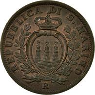 Monnaie, San Marino, 5 Centesimi, 1936, Rome, SPL, Bronze, KM:12 - San Marino