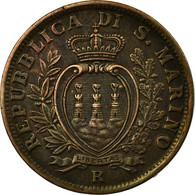 Monnaie, San Marino, 5 Centesimi, 1935, Rome, SUP, Bronze, KM:12 - Saint-Marin