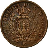 Monnaie, San Marino, 10 Centesimi, 1935, Rome, SUP, Bronze, KM:13 - San Marino