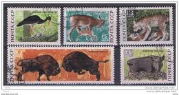 RUSSIA:   1969  RISERVA  DI  STATO  -  S. CPL. 5  VAL. US. -  YV/TELL. 3528/32 - Usati