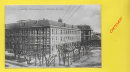 CPA 76 ROUEN ֎ Hôpital Auxiliaire ֎ Ensemble Vu De La Cour 1918 Calèche - Rouen