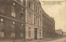 Collège Et Ecole Primaire Supérieure Des Garcns D'AEMENTIERES  Batiment Central Rue Du Collège RV - Armentieres