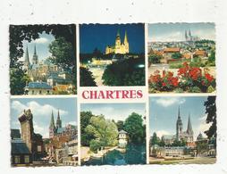Cp ,28 , Les Merveilles De CHARTRES , Multi Vues,vierge ,  Ed. Valoire - Chartres