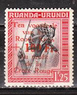 151**  Croix-Rouge - Bonne Valeur - MNH** - LOOK!!!! - Ruanda-Urundi