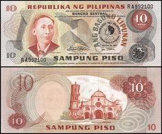PHILIPPINES - 10 Piso Nd.(1981) UNC P.167 - Filippine