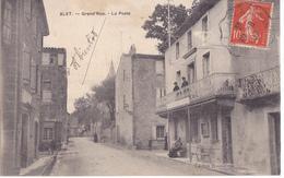 ALET  GRAND RUE -  LA POSTE - Francia