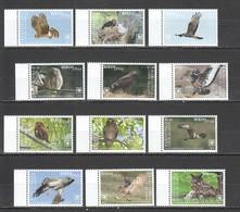 TT444 2018 !!! EXCLUSIVE RAROTONGA FAUNA BIRDS OF PREY EAGLES OWLS !!! 22 EURO NOMINAL 1 BIG SET MNH - Eagles & Birds Of Prey