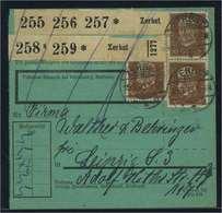 Paketkarte 1935 ZERBST Siehe Beschreibung (115208) - Deutschland