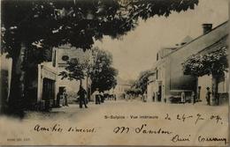 Suisse (VD) St.Sulpice - Saint Sulpice // Vue Interieur 1904 Rare - VD Vaud