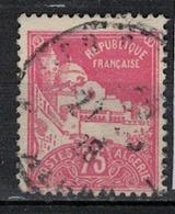 ALGERIE          N°  YVERT     49        OBLITERE       ( O   3/50 ) - Algerien (1924-1962)