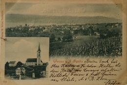 Suisse (ZH) Stafa // Gruss Aus Stafa 1904 Rare - ZH Zurich