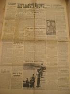Laatste Nieuws Krant Juni 1945 Vrouwen Als Valschermspringer Gestapo Man Maes Uit Roeselare - Guerre 1939-45