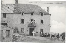 ANZAT LE LUGUET: HOTEL FERRANDIER - France