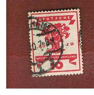 GERMANIA (GERMANY) - SG 107   -  1919  NATIONAL ASSEMBLY, WEIMAR (TREE)   - USED° - Germany