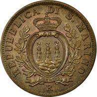 Monnaie, San Marino, 10 Centesimi, 1938, Rome, SUP+, Bronze, KM:13 - San Marino