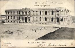 Cp Montevideo Uruguay, Escuela N. De Artes Y Oficios - Uruguay