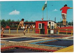 Hilvarenbeek (bij Tilburg) - Recreatie-oord 'Beekse Bergen' : TRAMPOLINE - (Holland) - 1973 - Tilburg