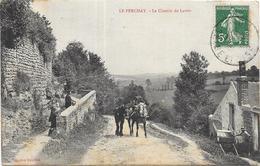 LE PERCHAY: LE CHEMIN DU LAVOIR - France