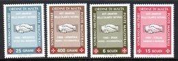 Ordre De Malte SMOM 0552/55 Oeuvres Humanitaires , Iran , Arménia , Italia , Mexico , Main - Malte (Ordre De)