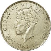 Monnaie, Chypre, George VI, 18 Piastres, 1940, SUP, Argent, KM:26 - Chypre