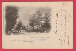 Lommel - Grande Barrière 1709 - Devant La Villa - 1902 ( Verso Zien ) - Lommel