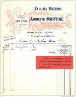 """MARTINE   """"Emaillerie Morezienne"""" Lettres Et Plaques, Enseignes   MOREZ Du JURA - France"""