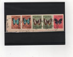 PAPOUASIE  Nouvelle-Guinée   1966  Y.T. N° 83  à  94  Incomplet  Oblitéré - Papua New Guinea
