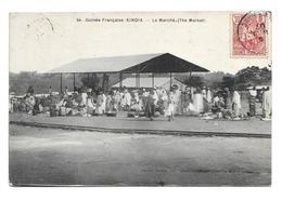 GUINEE FRANCAISE.. KINDIA. Le Marché - Guinée Française