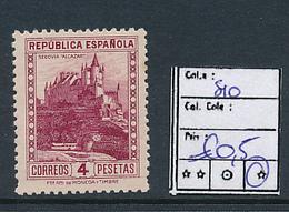 SPAIN YVERT 510 LH - 1931-Aujourd'hui: II. République - ....Juan Carlos I