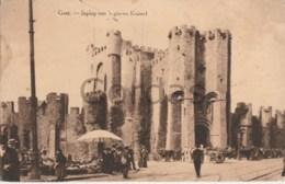 Belgium - Gent - Ghent - Ingang Van 's Graven Kasteel - Gent