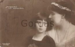Romania - Royal Family - Regina Maria - Principesa Ileana - Case Reali