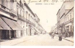 ITALIA - BRINDISI - Corso Al Porto, Animata, Viag.1916 - 2019-542 - Brindisi