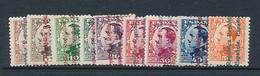 SPAIN YVERT 486/494 LH - 1931-Aujourd'hui: II. République - ....Juan Carlos I