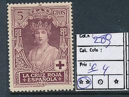 SPAIN YVERT 289 MNH - 1931-Aujourd'hui: II. République - ....Juan Carlos I