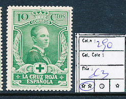 SPAIN YVERT 290 MNH - 1931-Aujourd'hui: II. République - ....Juan Carlos I