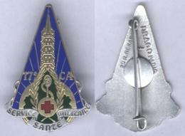 Insigne Du Service De Santé Militaire Du 17e Corps D'Armée - Services Médicaux