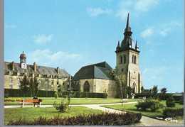 - CPM SAINT-MEEN-LE-GRAND (35) - Eglise Abbatiale - Editions CIM 0070 - - Frankrijk