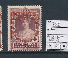 SPAIN YVERT 322 LH - 1931-Aujourd'hui: II. République - ....Juan Carlos I