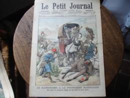 1904  Banditisme Frontiere Maroc Tribunal Affraire Autriche  Le Petit Journal Illustre - Journaux - Quotidiens