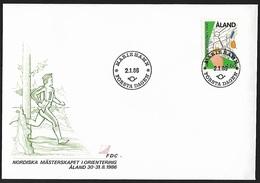 1986 - ALAND - FDC + Michel 15 + MARIEHAMN - Aland