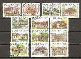 Pologne - Architecture - Manoirs - Petit Lot De 13° - Vrac (max 999 Timbres)