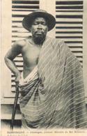 CPA Dahomey - Adameyan, Premier Ministre Du Roi Behanzin- Avec Erreur DImprimerie Martinique  Au Lieu De Dahomey - Dahomey