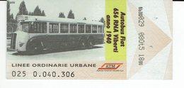 Italy Roma Bus Ticket Pass One Trip, Autobus Transport Public - Europa