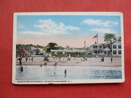 Lesleys Bathing Beach  Atlantic Highlands  NJ ----ref 3301 - United States