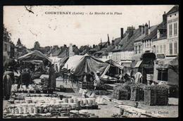 45, Courtenay, Le Marche De La Place - Courtenay