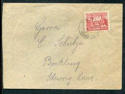 Deutsches Reich / 1939 / Mi. 735 EF Auf Brief, Steg-Stempel SCHWARZ/MIROW (MECKL.) (10797) - Deutschland