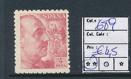 SPAIN YVERT 689 MNH - 1931-Aujourd'hui: II. République - ....Juan Carlos I